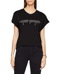 Cheap Monday - Screen Top Hacker Outline T-shirt - Lyst