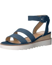 Franco Sarto Connolly Wedge Sandal - Blue