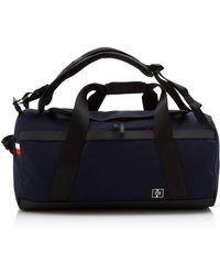 Tommy Hilfiger S Nautical Canvas Conv Weekender Shoulder Bag Multicolour - Black