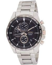 Seiko - Orologio Cronografo Quarzo Uomo con Cinturino in Acciaio Inox SSB323P1 - Lyst