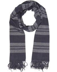 Levi's Seasonal Stripe Wrap Foulard - Bleu