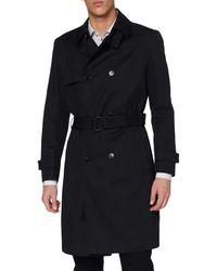 HUGO Maluks2111 10110503 01 Trenchcoat - Black