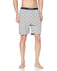 Lacoste Pantalones de Pijama para Hombre - Gris