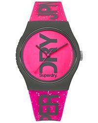 Syl189pp Silikon Mit Armband Pink Quarz Analog Uhr Damen cFl3KT1J