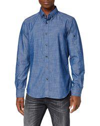 G-Star RAW Stalt Button Down Pocket Slim Camisa Vaquera - Azul
