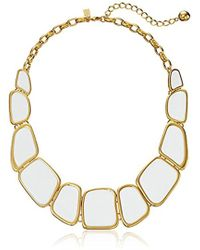 Kate Spade - Play To The Gallery Necklace - Lyst