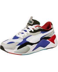 PUMA RS-X3 Puzzle - Sneakers blu multi