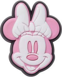 Crocs™ 's Disney Minnie Mouse Face Shoe Charms - Pink