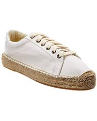 Soludos - Canvas Espadrille Sneakers - Lyst
