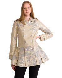 Desigual Gala Coat Size 38 Eu - Multicolour