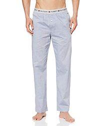 Tommy Hilfiger Woven Pant Bas De Pyjama - Bleu