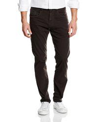 Esprit 116ee2b013 - 5 Pocket, Pantaloni Uomo, Grigio (Dark Grey), W34/L30 (Taglia Produttore: 34/30)