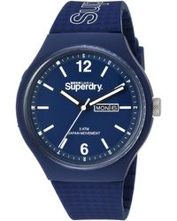 Superdry Syg179uu Watch - Blue