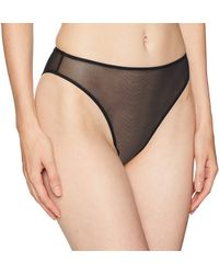 Only Hearts Whisper High Cut Brief - Black