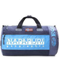 Napapijri Sac de Sport Grand Format - Bleu