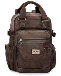 "Pepe Jeans Miller Brown Laptop 15,6"" Backpack"