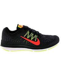 1a34b66ac57bf Nike Zoom Winflo 4 Men s Running Shoe in Black for Men - Lyst