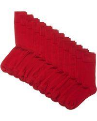 HIKARO Chaussettes pour - Rouge