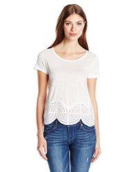 Desigual - Knitted T-shirt Short Sleeve 45 - Lyst
