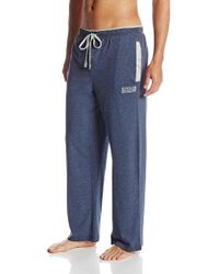 Kenneth Cole Reaction Jersey Pajama Pant - Blue