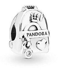PANDORA Bead Charms 925 Sterlingsilber 797859CZ - Mettallic
