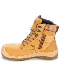 PUMA Chaussures de sécurité Montantes Conquest Wheat High S3 HRO SRC - Marron