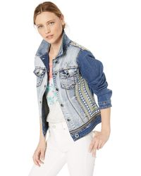 Desigual Jacket PARLERMO Blue Jeansjacke - Blau