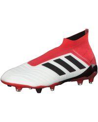 adidas Predator 18+ Firm Ground - Rouge