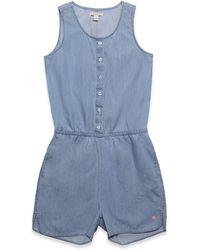Esprit Kids Denim Overall S Mono - Azul