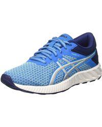 Asics Fuzex Lyte 2 T769n-4393 Training Shoes - Blue