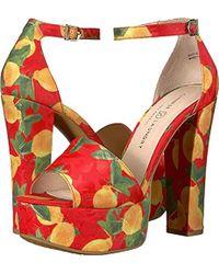 Chinese Laundry - Avenue 2 (red Lemon Print) High Heels - Lyst