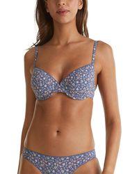 Esprit Bodywear Filina Iyc Daily Padded Soutien-Gorge rembourré - Bleu