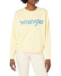 Wrangler - '80s Retro Sweatshirt - Lyst