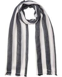 Tommy Hilfiger Tailored Stripes Scarf Echarpe - Bleu