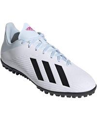 adidas Performance X 19.4 TF Chaussures de football pour homme - - blanc/noir, 11 US - 45 1/3 EU - 10.5 UK