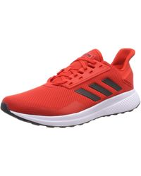 adidas Duramo 9 Chaussures Athlétiques - Rouge