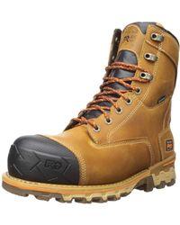 "Timberland PRO Boondock 8"" Composite Toe Waterproof Insulated Industrial Boot - Marron"