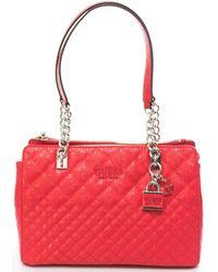 Guess Queenie Luxury Tasche - Rot