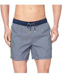 Esprit Green Bay Woven Shorts Boxer - Bleu