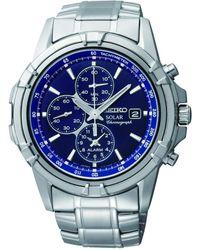 Seiko - Orologio Cronografo Quarzo Uomo con Cinturino in Acciaio Inox SSC141P1 - Lyst