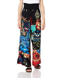 Desigual Pant_Osaka Pantalones Informales - Multicolor