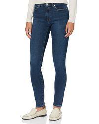 GANT Skinny Super Stretch Jeans Pantaloni Elei da Uomo - Blu