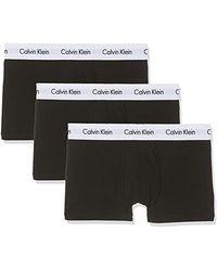 Calvin Klein Boxer de Bain (Lot de 3) - Noir