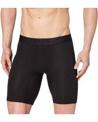Levi's Levis Movement Long Boxer 1P Pantaloncino - Nero