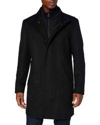 HUGO Mayer2041 Dress Coat - Blue