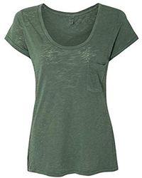 Alternative Apparel - Favorite Washed Slub T-shirt - Lyst