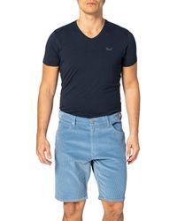 Wrangler Shorts Pantaloncini Corduroy - Blu