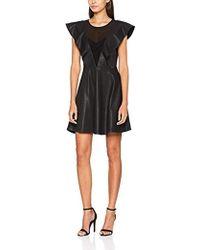 Guess Lavinia Dress Robe Femme - Noir