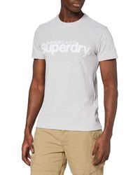 Superdry Core Faux Tee T-Shirt - Gris