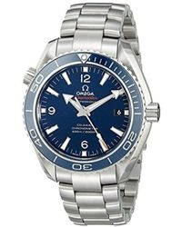 Omega - Seamaster Planet Ocean 600m Co-axial 42mm Titanium Chronometer 232.90.42.21.03.001 - Lyst